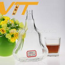 Superior White 500ml mojito alcohol glass bottle