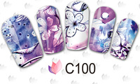 2015 Nail Beauty Decorative Abstract And Quite Beautiful Pictures Designs Water Transfer Nail Sticker Nail Decals