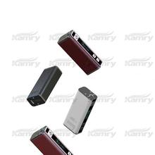 2015 low resistance huge vapor vaporizers 30w e cigarette box mod electronic cigarette case factory price drip tips ehookah ecig