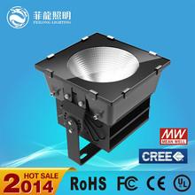 high lumen led outdoor flood light 500w led flood light with 5 year warranty