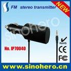 FM stereo transmitter for smartphones