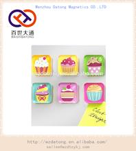 Cupcake Magnet Set 6 Magnets