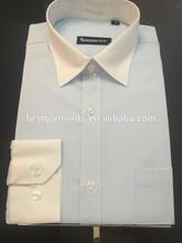 100%cotton new design trim collar classic man shirt