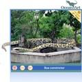 tamaño gigante animatronic serpiente de goma