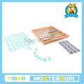 المواد مونتيسوري، مونتيسوري اللعب، الدمية الخشبية التعليمية-- الخشب الألعاب-- البنك لعبة