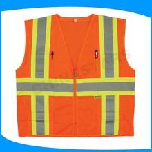 factory direct sale high quality reflection vest customized reflective vest