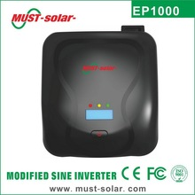 <Must Solar> New panel EP1000 series High frequency modifed sine wave tv power supply inverter for home use