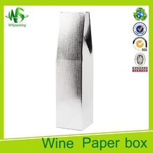Cardboard wine boxes martini glass packing box