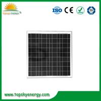 OEM 50w PV poly Solar Panel