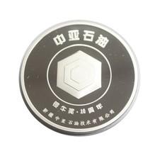 Petroleum Company Anniversary silver mirror coin souvenir gift