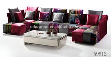 latest Europ design home furniture sofa A9912