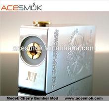 Factory offer cherry bomber box mod 1:1 clone high quality cherry bomber box mod