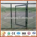 Portão de esgrima cadeia usado link portas da cerca para a escola ea casa