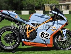 body kit for motorcycle ducati 1098 848 1198 2007 2008 2009 2010 2011 blue orange