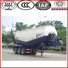 Hot sale 40 CBM bulk cement tank carrier semi trailer cargo trailer