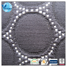 Nylon/Polyester/Spandex Weft Knitted Interock Fabric