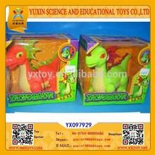 Jurassic 2015 new design soft plastic dinosaur toys for kids
