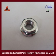 DIN6923k Grade4 Hexagon Knurled Nuts With Flange M8