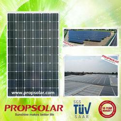 Best price and high efficiency monocrystalline solar panel 140w