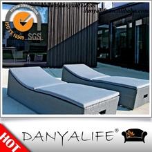DYLG-D1117 Danyalife Outdoor Resin Wicker Beach Lounger Chair