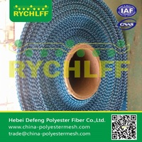 Large air permeability spiral dryer fabrics