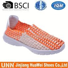 Slip on summer unisex handmade woven shoes