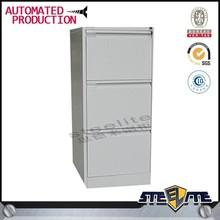 Vertical 3 Drawer Metal File Cabinet Metal Office Furniture
