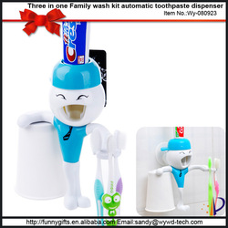 Attractive kids gifts high quality cartoon family toothbrush holder