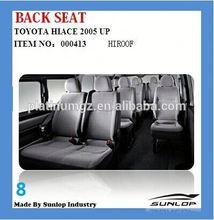 car seat toyota hiace back seat hiroof