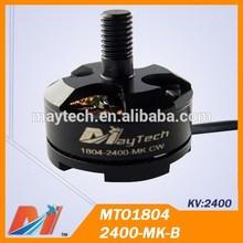 Maytech mini outrunner engine 1804 2400kv for diy mini drone