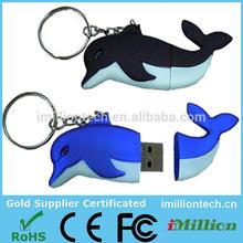 China Animal Shape Pvc Usb Flash Drive With Good Price