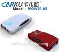 Carku 12v de patentes los vehículos diesel de arranque salto de pasado el ce/fcc/el certificado de rohs puede cargar para el ordenador portátil, smartphone