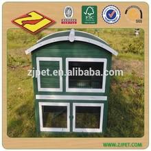 2015 E-co Friendly Large Run Wooden Rabbit House Designs DXR042