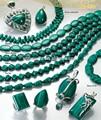 Pierre précieuse verte malachite, prix de gros pour déposer et ronds et ovales formes