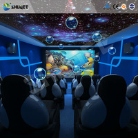 2015 Professional 7D Cinema With Bubble,Snow,Wind,Smoke