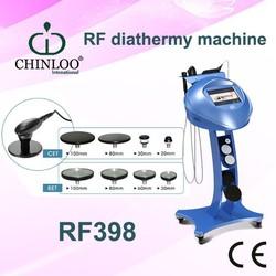 2015 Wonderful design RF heat through therapy for diminish pain beauty machine RF398/ CE/ CHIN LOO