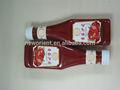 Oem frasco de molho de tomate de fábrica, frasco de ketchup de tomate molho de fábrica, molho de tomate