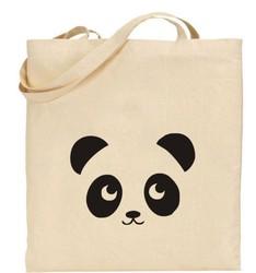 2015 wholesale factory supplier cartoon cotton shopping bag