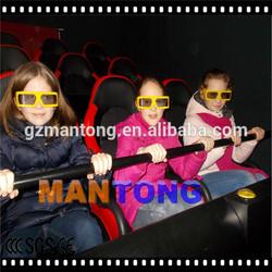 Highest profit! amusement park equipment 7d small theater 9d mini roller coaster cinema 12d with 3d movies