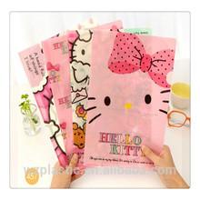2015 made in china printed PP file folder, plastic folder, PP folder