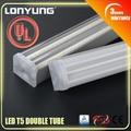 Cul UL lista de alto lumen buena calidad 2 ft lámpara fluorescente doble integrado base