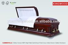 alibaba white walnut coffin SUMMERVILLE funeral supplies wholesale
