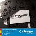 Hechos a mano tarjetas de visita en papel spot uv en relieve tarjetas de visita