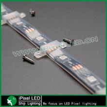addressable rgb dmx music control ws2812b led strip light