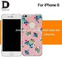 wholesale 3m phone skin, custom design for iphone6 full body skins