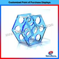Wholesale countertop acrylic pop wine display holder