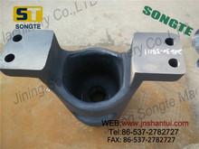 PC450 excavator yoke for front idler 208-30-54111 Excavator recoiling spring bracket