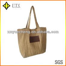 jute shopping corn husk straw bags