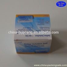 2015 Alibaba good price &good quality &good sale saline solution salt paper boxes