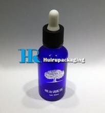 ChildProof Cap Dropper E-juice 50ml Essential Oil Bottle Blue